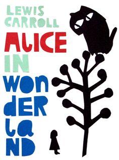 Alice in Wonderland illustration by Leena Kisonen (Helsinki, Finland)
