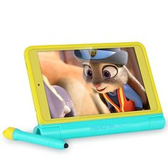 Dragon Touch K8 8 inch Kids Tablet, Kidoz Pre-Installed with All-New Disney Content (more than $80 Value), 2GB RAM 16GB Nand Flash 800x1280 IPS Display, Android 6.0 Marshmallow Android Tablet
