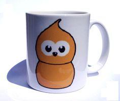 EDF Zingy Coffee Mug by GelertDesign on Etsy