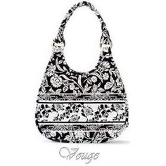 Marie Osmond Quilted Cotton Hobo Purse Handbag Vouge