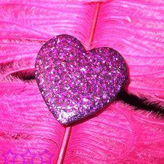 Glitter Heart #pink #colors #color #colours
