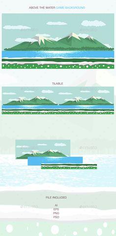Above Water Game Background Download here: https://graphicriver.net/item/above-water-game-background/15317535?ref=KlitVogli