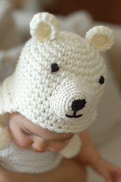 polar bear hat!