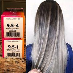 3 Toning Myths Debunked By Hair Color schwarzkopf hair color Brown Ombre Hair, Burgundy Hair, Couleur Schwarzkopf, Schwarzkopf Hair, Igora Hair Color, Aveda Hair Color, Silver Hair Highlights, Hair Color Formulas, Hair Toner
