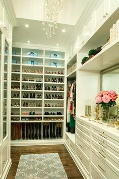 25 Inspirational Organized Closets