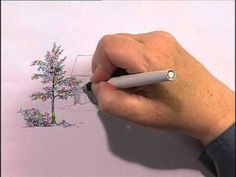 Parallel Lines in Pen & Ink: Creating Textures Part 1, Claudia Nice - YouTube