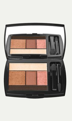 Celebrities who wear, use, or own Lancôme Color Design Eye Brightening All-In-One 5 Shadow & Liner Palette. Also discover the movies, TV shows, and events associated with Lancôme Color Design Eye Brightening All-In-One 5 Shadow & Liner Palette. Lancome Eyeshadow, Eyeshadow Palette, Makeup Palette, Eye Palette, Shimmer Eyeshadow, Bright Eyeshadow, Neutral Palette, Bronze Eyeshadow, Hair Colors