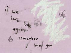 remember i love you, broken