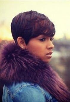 trendy Short Hairstyles for Black Women 2014