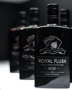"Royal Flush Gin on Instagram: ""Line 'em up #royalflushgin"" Line S, Ems, Flask, Barware, Instagram, Tumbler"