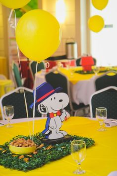 Nicholas\' Snoopy and The Peanuts Gang Themed Party – 1st Birthday - Party Doll Manila