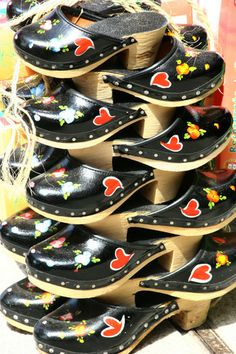 Portuguese traditional clogs.