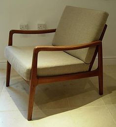 Teak Arm chair    Designed by Ole Wancher