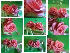 aranjament din ceara Rose, Flowers, Plants, Art, Art Background, Pink, Kunst, Plant, Performing Arts