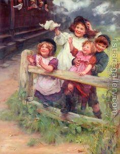 Artist  John Elsley   Arthur John Elsley:Home Again