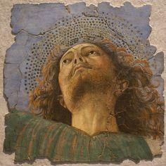 Melozzo da Forli, Head of an Apostle, c. 1480, Pinacoteca Vaticana