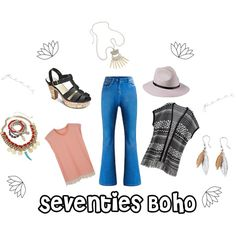 70s Boho by simplybe on Polyvore
