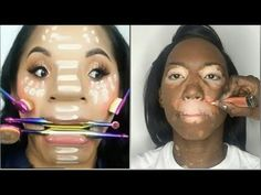 testing kkw beauty contour stick & lipsticks, kim kardashian's brand -MAQUILLAJE DE $5: http://bit.ly/MAQUILLAJEDE5 -MAQUILLAJE DE $10: http://bit.ly/MAQUILL...