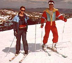 Retro days on the slope - 1980's #Vintage #LuxuryLinkSnowBoard