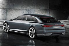 Audi A9/Prologue Avant (Autosalon Genf): Erste Bilder und Infos