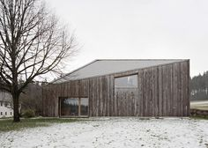 modern extension to farmhouses | modern extension was added to a traditional farmhouse in austria 3 ...