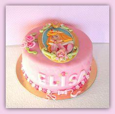 Sleeping Beauty Cake fondant