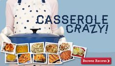 Check out our newest recipe sampler, Casserole Crazy!
