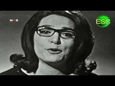 """Nana Mouskouri - """"À Force De Prier"""" - Eurovision Song Contest 1963 - Luxembourg - Wow.  <3"""