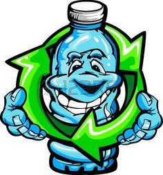 13208860-imagen-vectorial-de-dibujos-animados-de-una-feliz-sonrisa-botella-de-agua-de-pl-stico-de-sujetar-a-u.jpg (418×450)