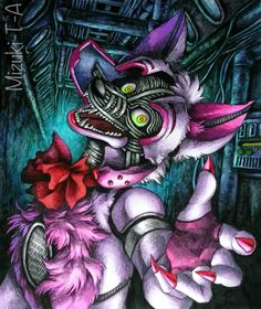 You don't have to be afraid / FNaF SL by Mizuki-T-A.deviantart.com on @DeviantArt