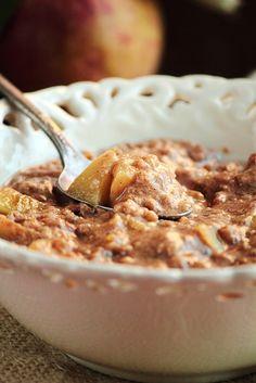 Apple Cinnamon Steel Cut Oatmeal
