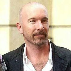 The Edge, U2 - the Edge isn't wearing a hat here, He is one of the most attractive men I know - with or without headgear!