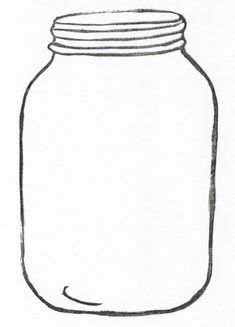 mason jar clipart for catching bee-havior board (from a teacher ...