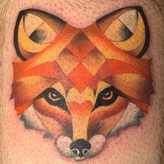 Billedresultat for fox tattoo