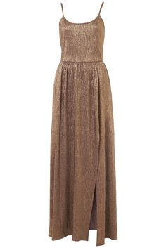Strappy Gold Maxi Dress £45 NEW YEARS
