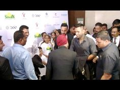 MS Dhoni at Charity Dinner function hosted by Virat Kohli Foundation.
