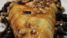 Baked Brie with Fig and Walnut Glaze | Created by Diane