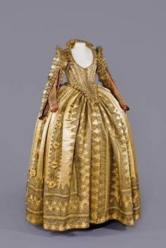 Ceremonial dress of Magdalena Sibylla of Prussia, Electress of Saxony c. 1610-20