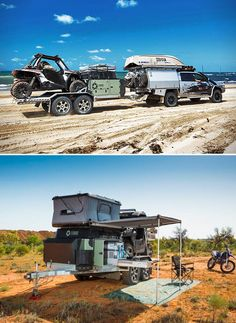 Patriot Toy Hauler TH610 and the All for Adventure boys!! All For Adventure, Utv Trailers, Bug Out Trailer, Off Road Trailer, Overland Trailer, Toy Hauler Camper, Truck Camper, Expedition Trailer, Expedition Vehicle