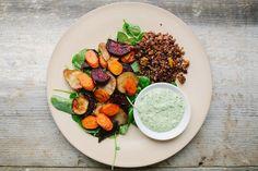 quinoa e ++ às nove no meu blogue