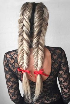Popular Styles: Big Side Braid, Double Fishtail, and Full Crown picture2
