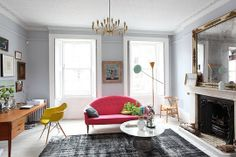A Colorful Modern Mix in London