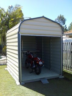 motorcycle shed - Google Search