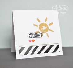 Stampin' Up ideas and supplies from Vicky at Crafting Clare's Paper Moments: Over the rainbow love and sympathy - Stampin' Up artisan blog hop