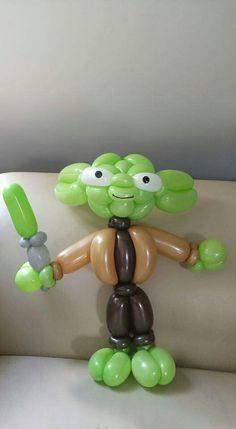 Yoda Ballonfigur