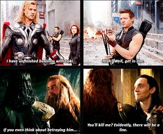 Friendly reminder that Hawkeye is at the front of the line. :3