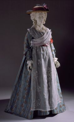 Dress1785-1790The Los Angeles County Museum of Art