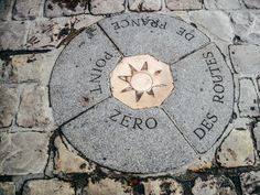 Point Zero-Located next to Notre Dame