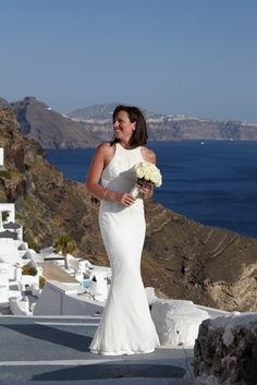 Wedding in Santorini | View the full gallery here:http://tietheknotsantorini.com/santorini-wedding-in-oia