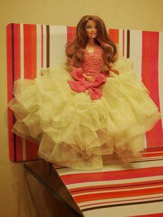 goldheels: Girls Dresses, Flower Girl Dresses, Barbie Clothes, Reading, Wedding Dresses, Crochet, Books, Fashion, Projects